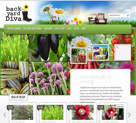 arden and up-cycle tips, hand picked and packaged heirloom seeds and more! - Backyard Diva