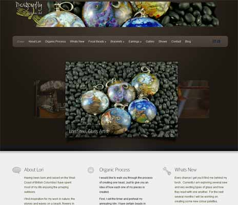 Dragon Fly Organics - Organic Jewlery and Art