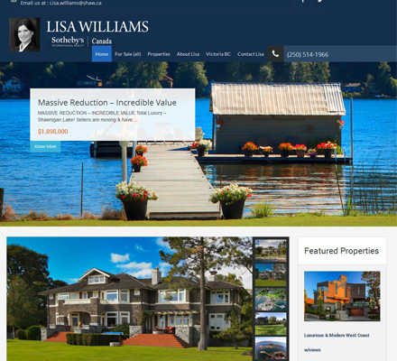 Urban Web Design Sothebys Lisa Williams